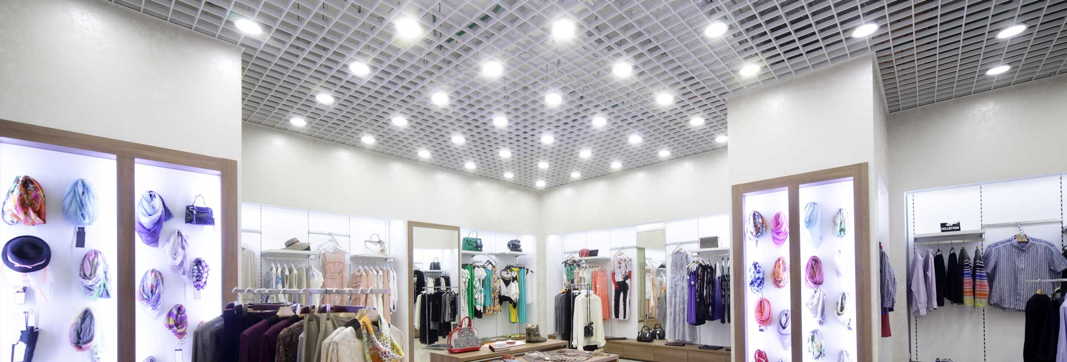 Lighting for Retail Shops   Supply & Installation - LED UK